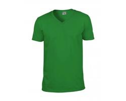 Pánské tričko Gildan Euro Fit V-Neck Soft Style