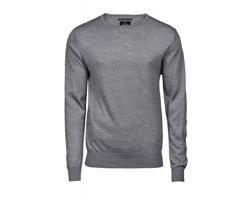 Pánský svetr Tee Jays Mens Crew Neck Sweater