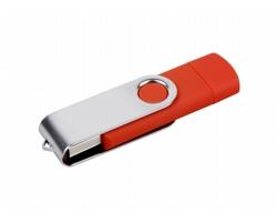 Klasický USB flash disk TWISTO OTG - duální