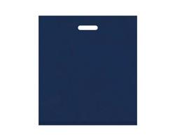 Igelitová PE taška tmavě modrá - 450x500mm, pevný průhmat a složené dno
