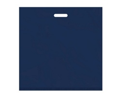 Igelitová PE taška tmavě modrá - 550x550mm, pevný průhmat a složené dno