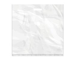Igelitová PE taška bílá - 550x550mm, pevný průhmat a složené dno