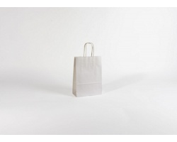 Papírová taška BIANCO - 18 x 25 x 8 cm
