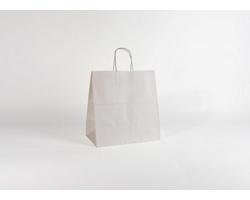 Papírová taška BIANCO - 32 x 34 x 19 cm