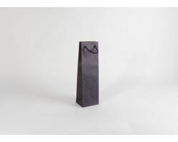 Papírová taška na víno BLUE GLASS - 12 x 40 x 9 cm