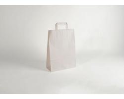 Papírová taška CLASSIC WHITE (BS) - 26 x 38 x 11 cm