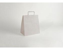 Papírová taška CLASSIC WHITE (BS) - 26 x 29 x 16 cm
