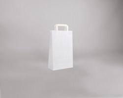 Papírová taška BS CRAFT - 22 x 36 x 10 cm - bílá