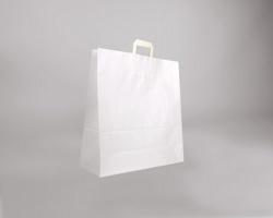 Papírová taška BS CRAFT - 45 x 48 x 17 cm - bílá