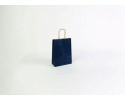 Papírová taška ECO BLUE - 18 x 25 x 8 cm
