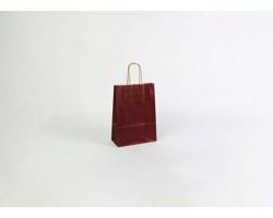 Papírová taška ECO BORDEAUX - 18 x 25 x 8 cm