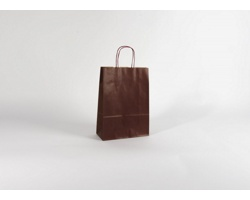 Papírová taška ECO BORDEAUX - 23 x 32 x 10 cm