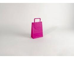Papírová taška HAPPY PINK - 18 x 25 x 8 cm