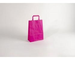 Papírová taška HAPPY PINK - 23 x 32 x 10 cm