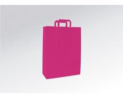 Papírová taška HAPPY PINK - 26 x 38 x 11 cm