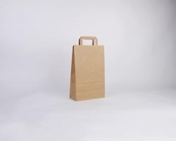 Papírová taška HS CRAFT - 22 x 36 x 10 cm - hnědá