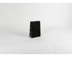 Papírová taška M2 BLACK - 16 x 25 x 8 cm