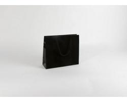 Papírová taška M2 BLACK - 32 x 27,5 x 10 cm