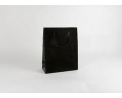 Papírová taška M2 BLACK - 32 x 40 x 13 cm