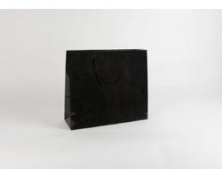 Papírová taška M2 BLACK - 42 x 37 x 13 cm