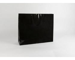 Papírová taška M2 BLACK - 54 x 44,5 x 14 cm