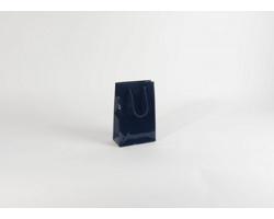 Papírová taška M2 BLUE - 16 x 25 x 8 cm