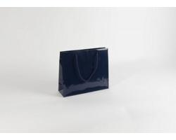 Papírová taška M2 BLUE - 32 x 27,5 x 10 cm