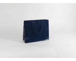 Papírová taška M2 BLUE - 38 x 31 x 13 cm