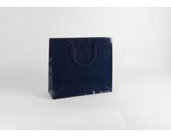 Papírová taška M2 BLUE - 42 x 37 x 13 cm