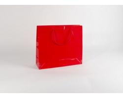 Papírová taška M2 RED - 42 x 37 x 13 cm