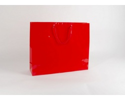 Papírová taška M2 RED - 54 x 44,5 x 14 cm