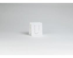 Papírová taška M2 WHITE - 14 x 14 x 7 cm