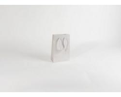 Papírová taška M2 WHITE - 16 x 25 x 8 cm