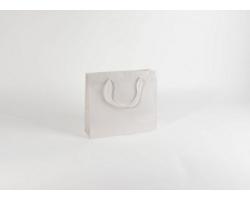 Papírová taška M2 WHITE - 32 x 27,5 x 10 cm