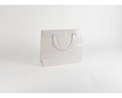 Papírová taška M2 WHITE - 38 x 31 x 13 cm