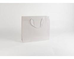 Papírová taška M2 WHITE - 42 x 37 x 13 cm