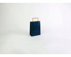 Papírová taška RAINBOW BLUE - 18 x 25 x 8 cm