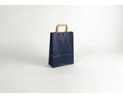 Papírová taška RAINBOW BLUE - 23 x 32 x 10 cm