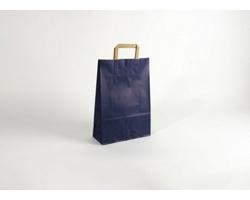 Papírová taška RAINBOW BLUE - 26 x 38 x 11 cm