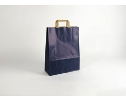 Papírová taška RAINBOW BLUE - 32 x 42,5 x 13 cm