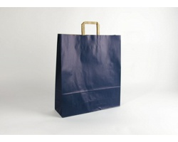 Papírová taška RAINBOW BLUE - 44 x 50 x 14 cm