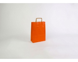 Papírová taška RAINBOW ORANGE - 23 x 32 x 10 cm