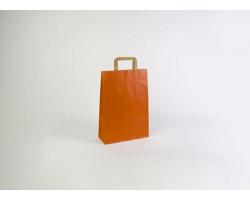 Papírová taška RAINBOW ORANGE - 26 x 38 x 11 cm
