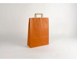 Papírová taška RAINBOW ORANGE - 32 x 42,5 x 13 cm