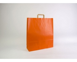 Papírová taška RAINBOW ORANGE - 44 x 50 x 14 cm