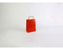 Papírová taška RAINBOW RED - 18 x 25 x 8 cm