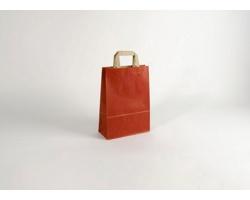 Papírová taška RAINBOW RED - 23 x 32 x 10 cm