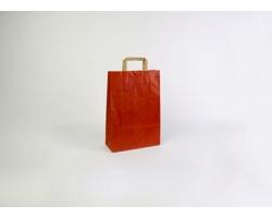 Papírová taška RAINBOW RED - 26 x 38 x 11 cm