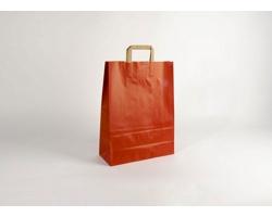 Papírová taška RAINBOW RED - 32 x 42,5 x 13 cm