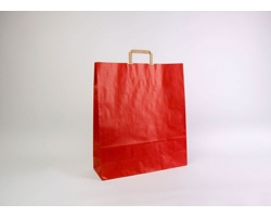 Papírová taška RAINBOW RED - 44 x 50 x 14 cm